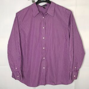 3X Long Sleeve Button Up